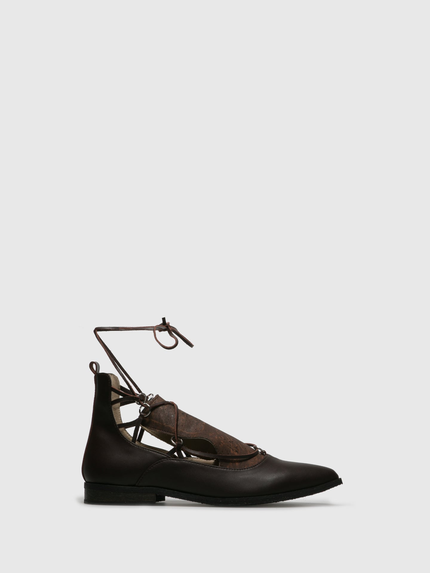 Marita Moreno Brown Pointed Toe Shoes