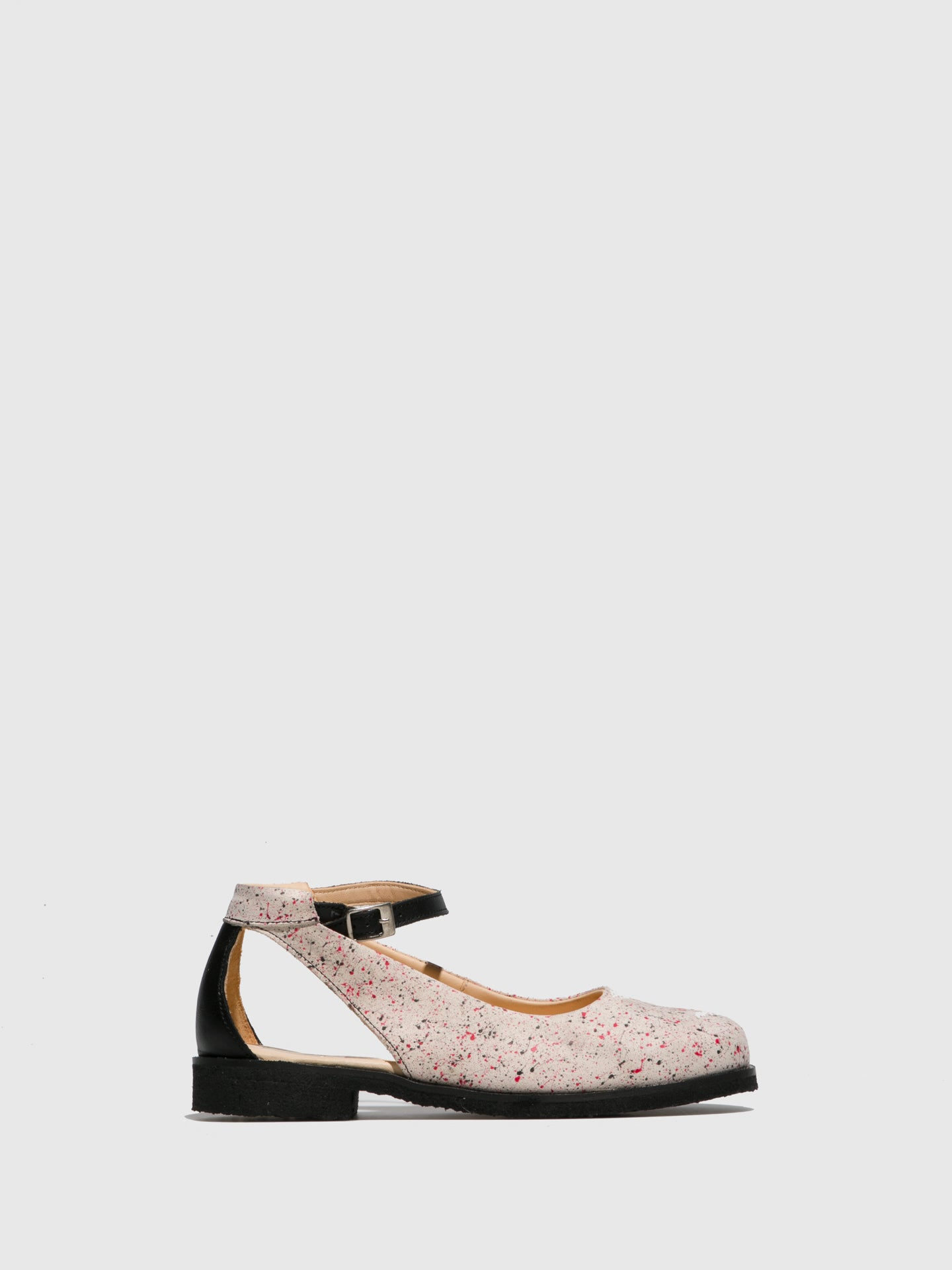 Marita Moreno Multicolor Flat Shoes