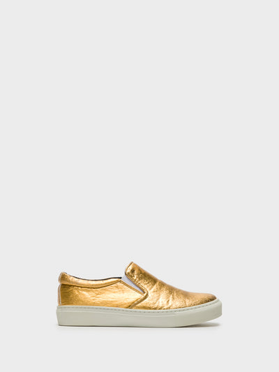 NAE Gold Elasticated Shoes
