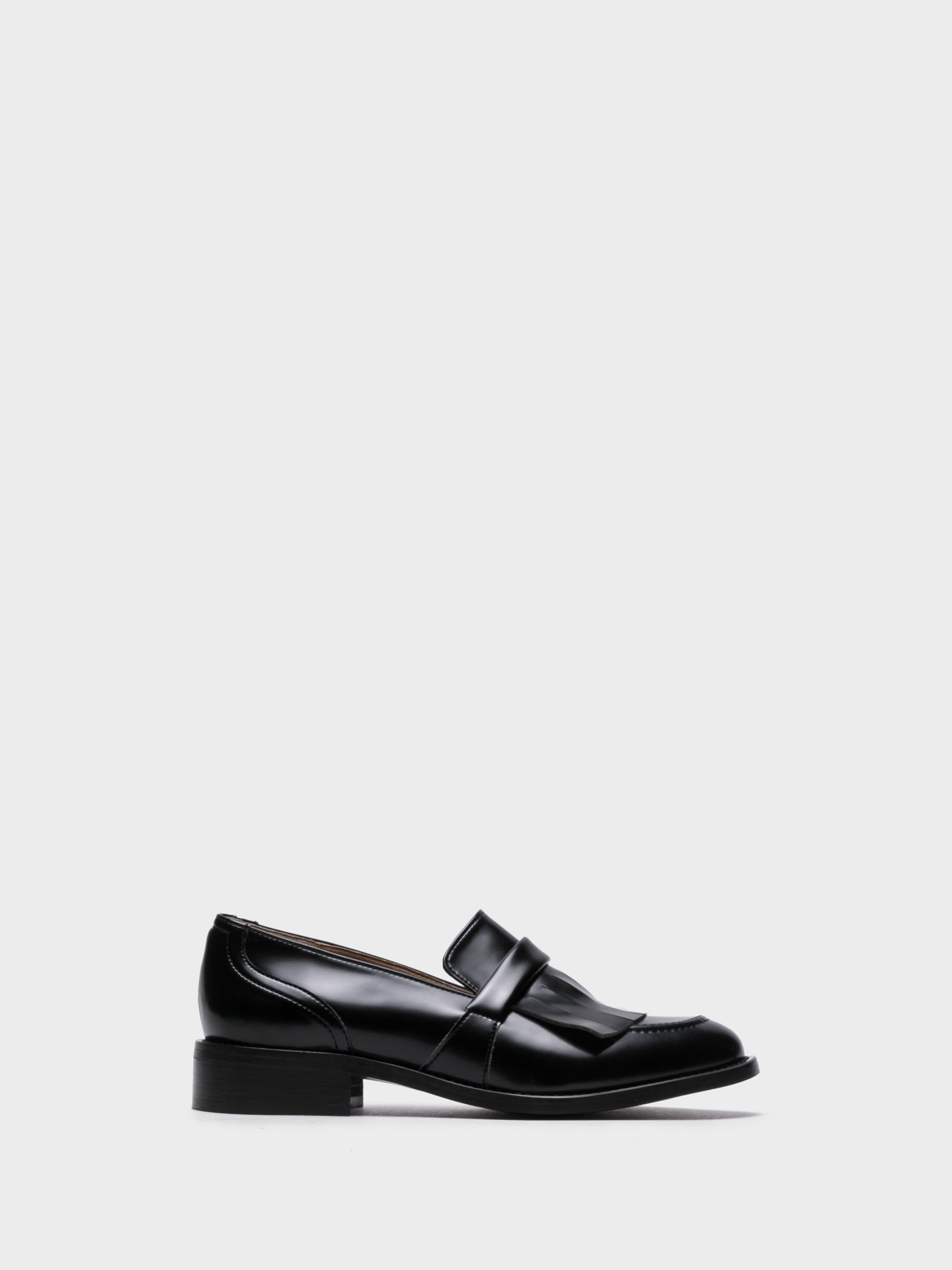 NAE Black Loafers Shoes