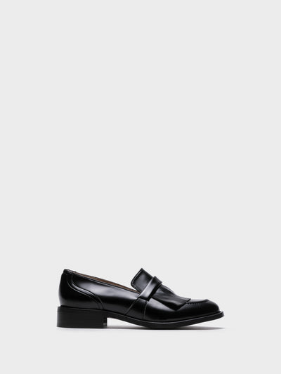 NAE Vegan Shoes Black Loafers Shoes