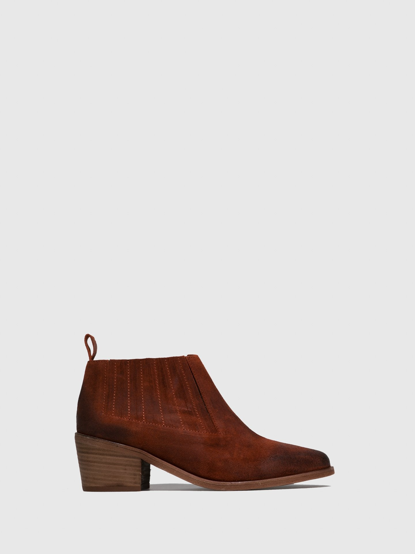Only2me Camel Elasticated Ankle Boots