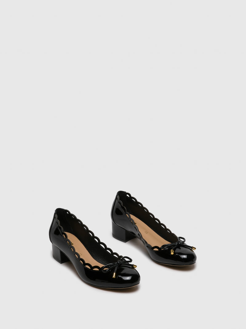 Black Round Toe Shoes