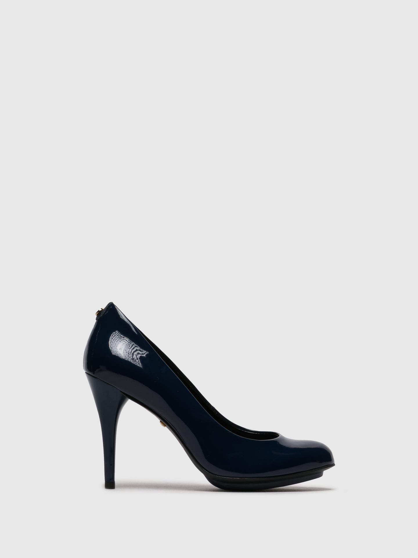 PARODI PASSION Navy Stiletto Shoes