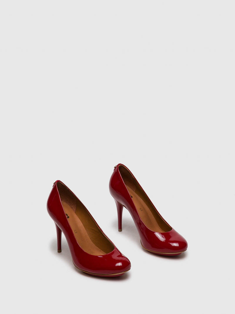 PARODI PASSION Red Stiletto Shoes