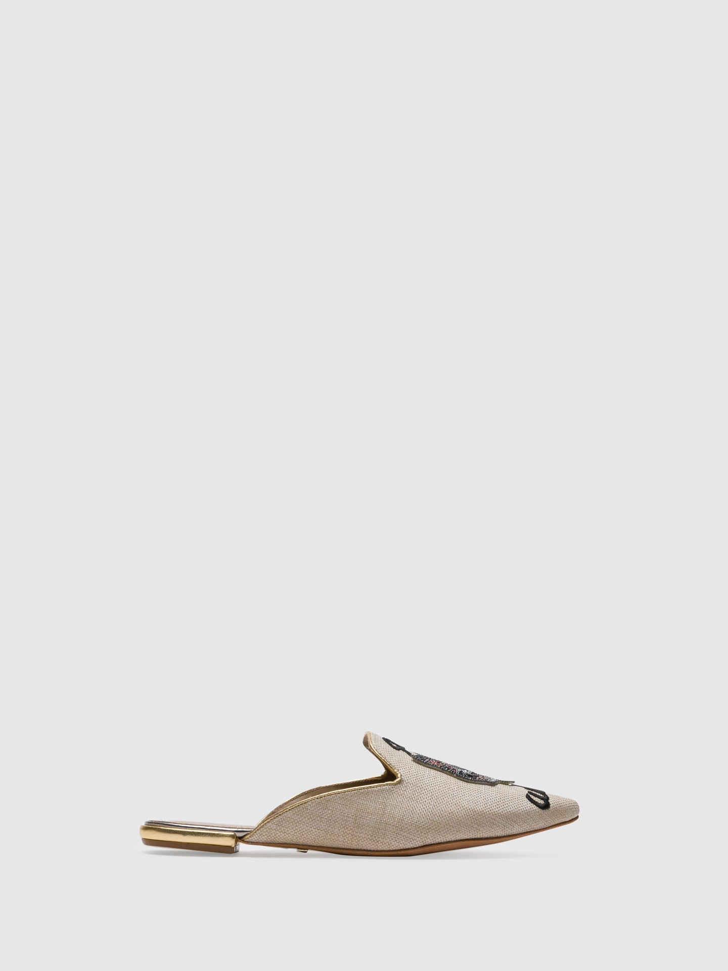 PARODI PASSION BlanchedAlmond	 Pointed Toe Mules