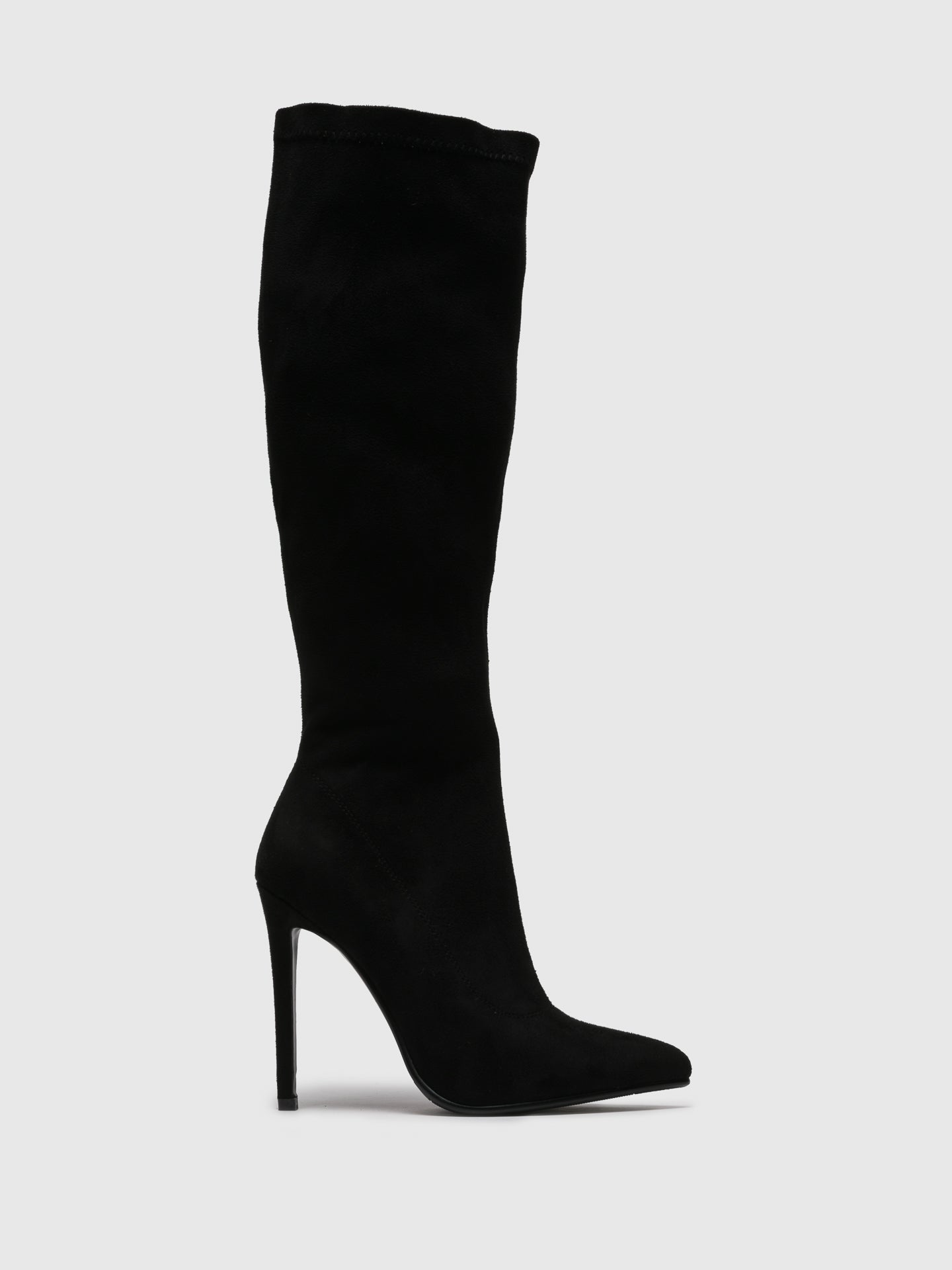 PARODI SUNSHINE Black Stiletto Boots