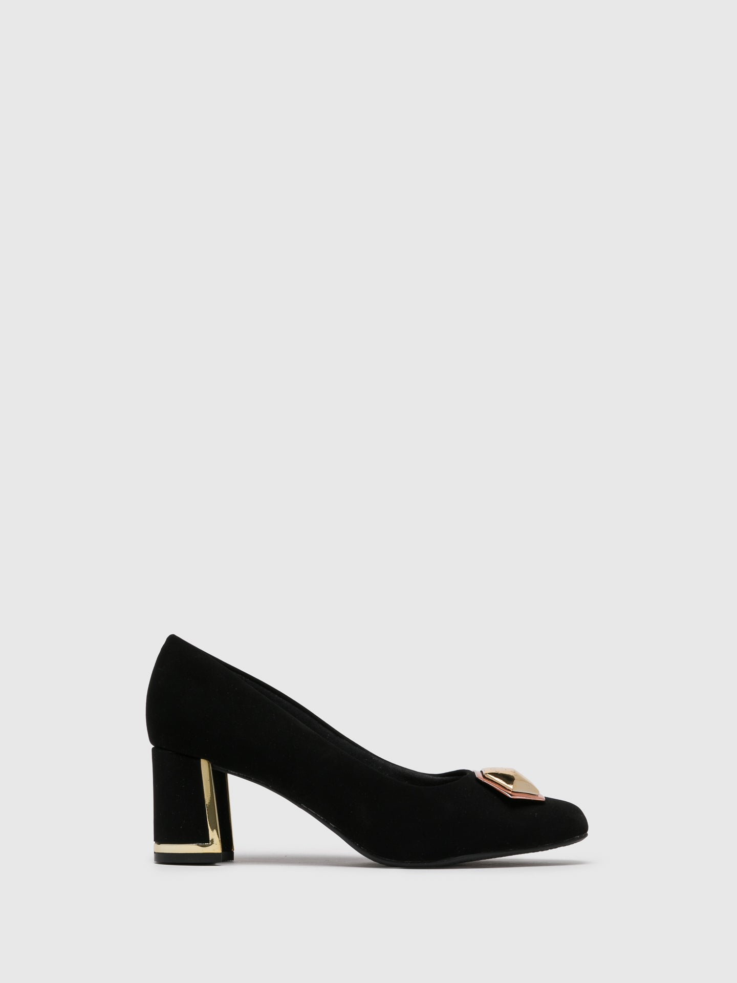 PARODI SUNSHINE Black Classic Pumps