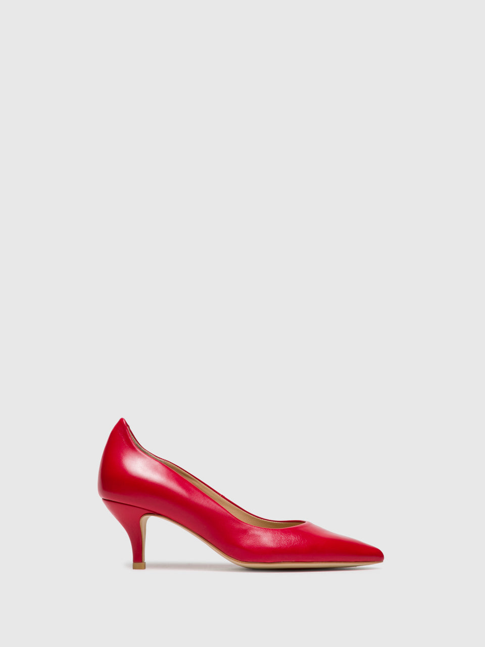 Perlato Red Stilettos Shoes