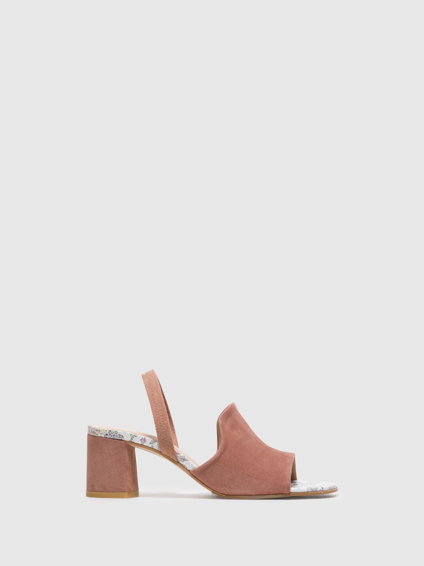 Perlato Pink Sling-Back Sandals