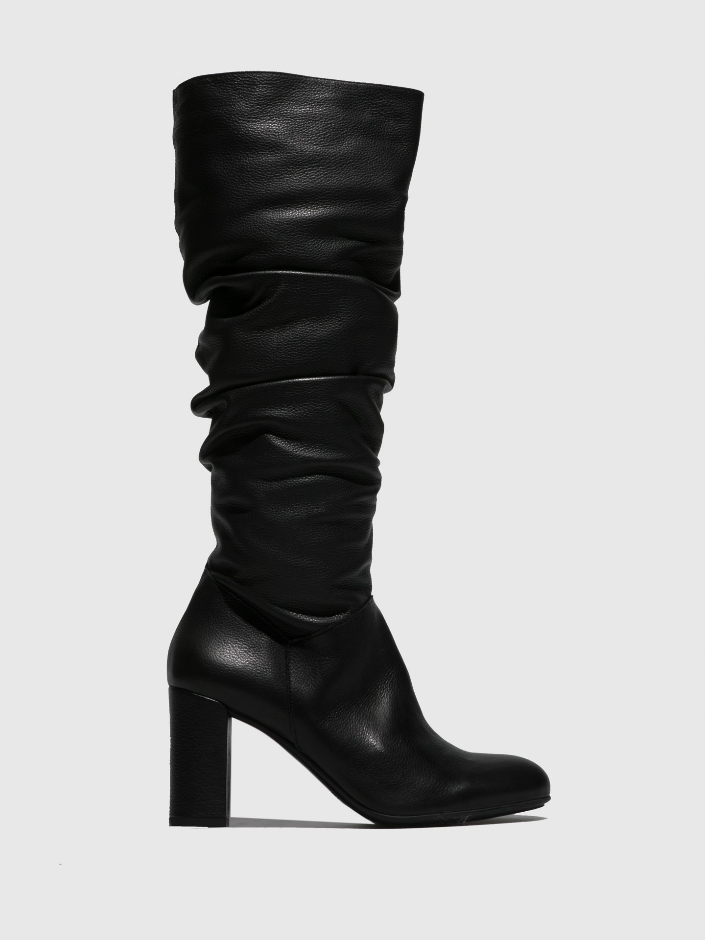 Perlato Black Zip Up Boots