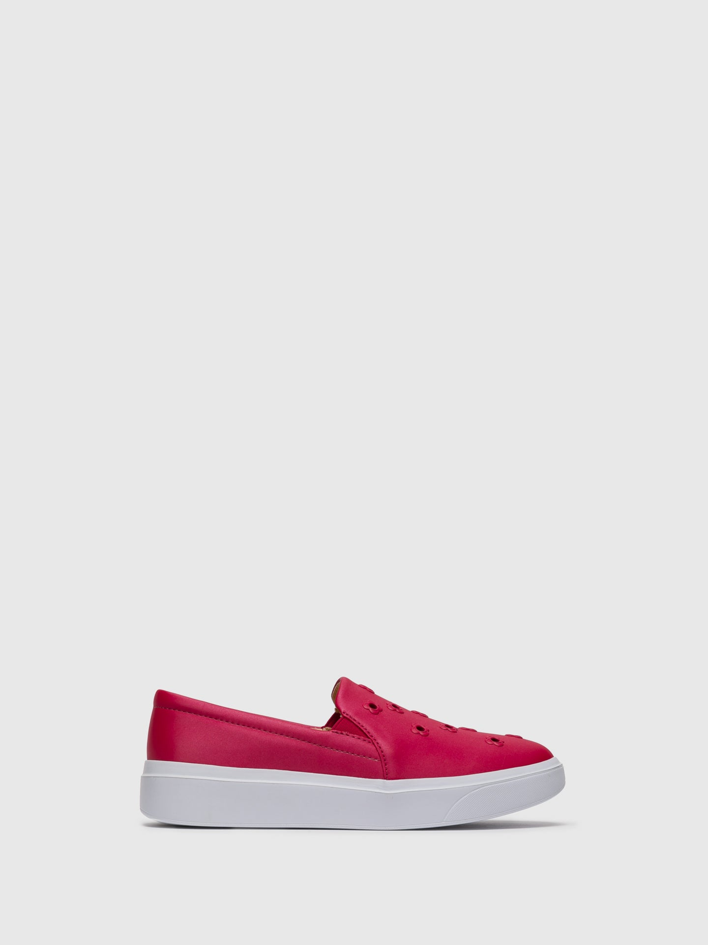 PETITE JOLIE by PARODI Pink Slip-on Trainers