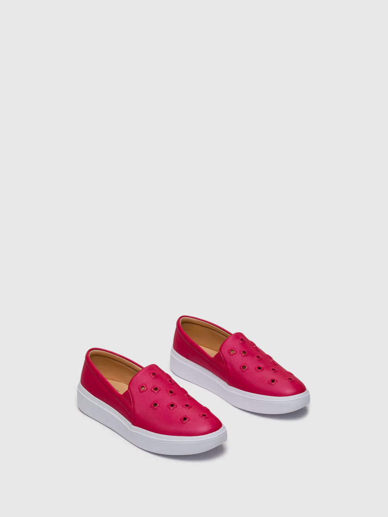Pink Slip-on Trainers