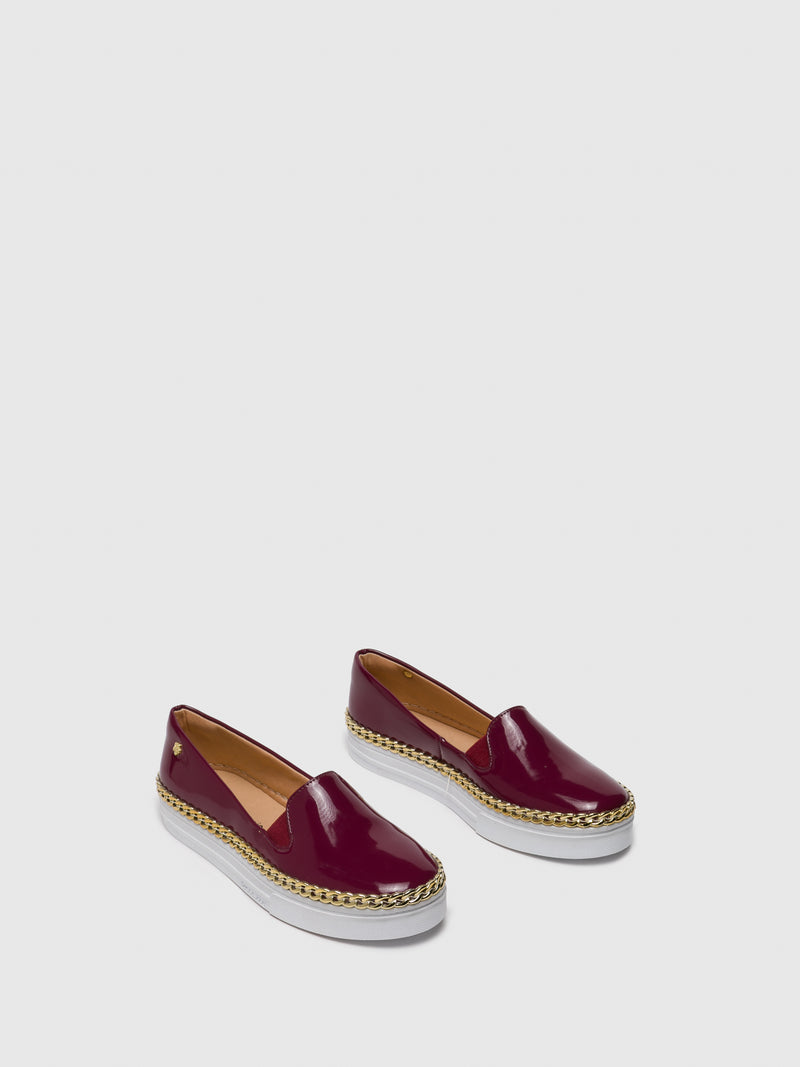 DarkRed Slip-on Trainers