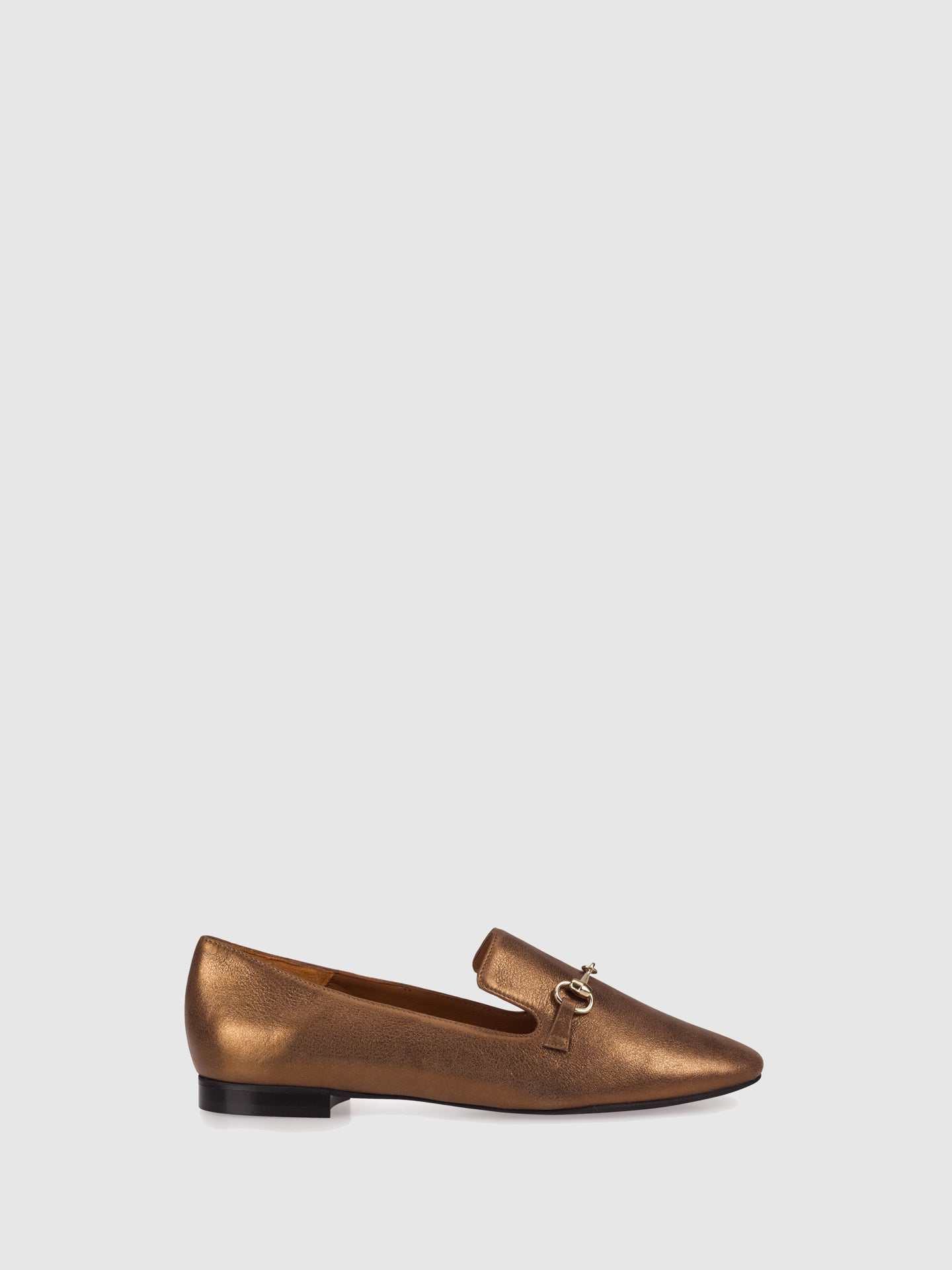 Palazzo VII Gold Loafers Shoes
