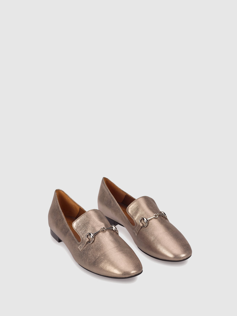 Palazzo VII Bronze Loafers Shoes