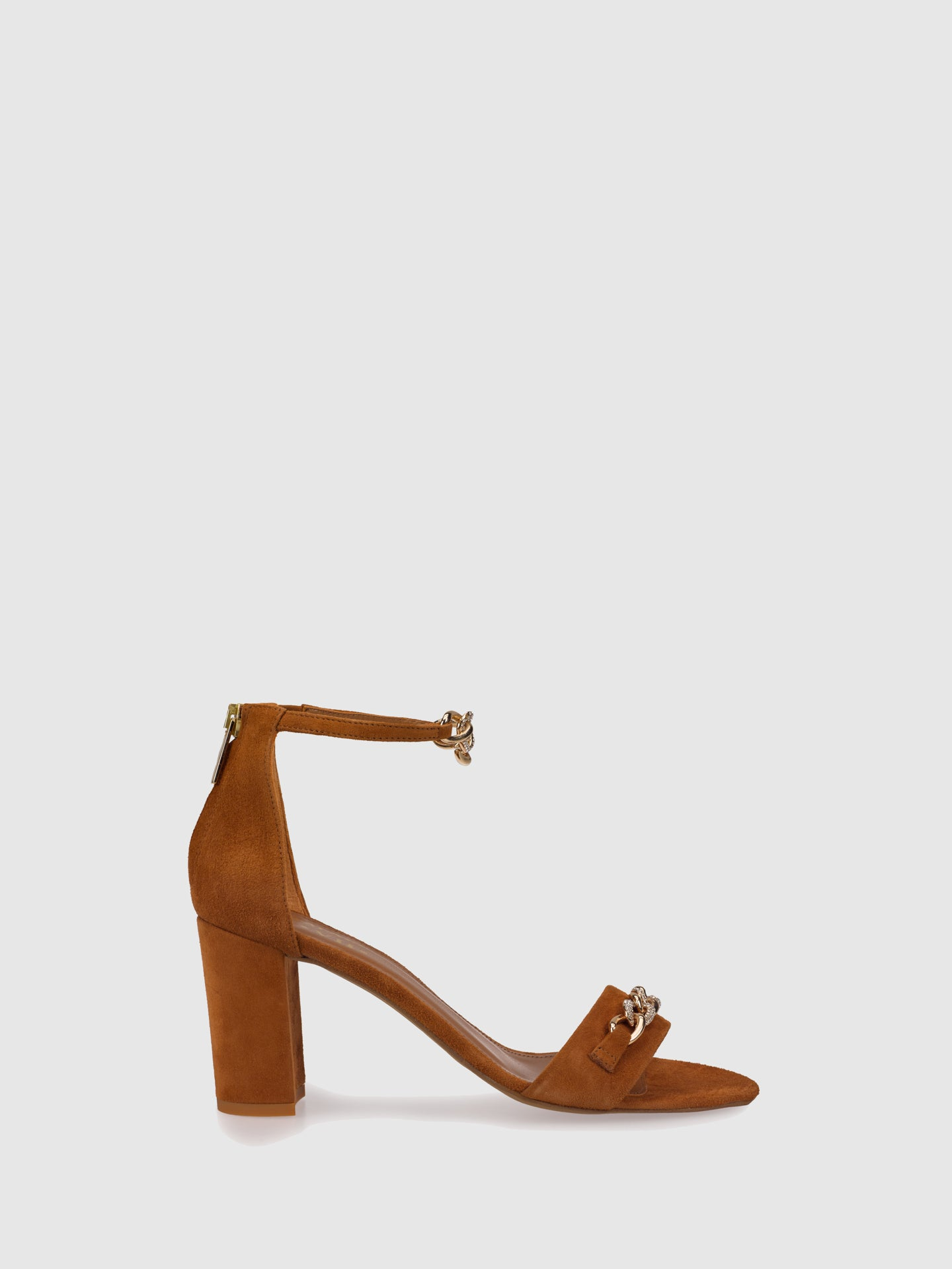 Palazzo VII Brown Ankle Strap Sandals