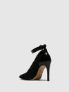 Parodi Passion Black Pointed Toe Shoes