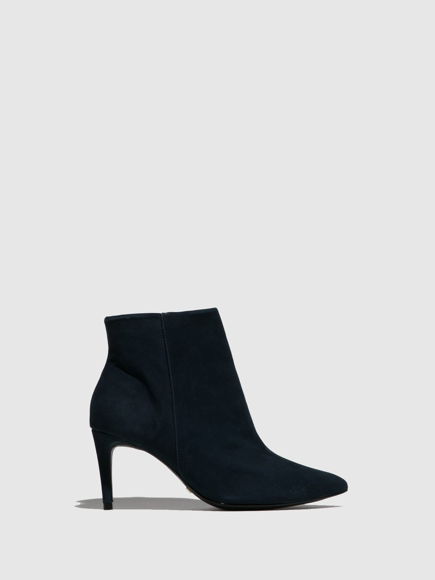 Parodi Passion Navy Pointed Toe Ankle Boots