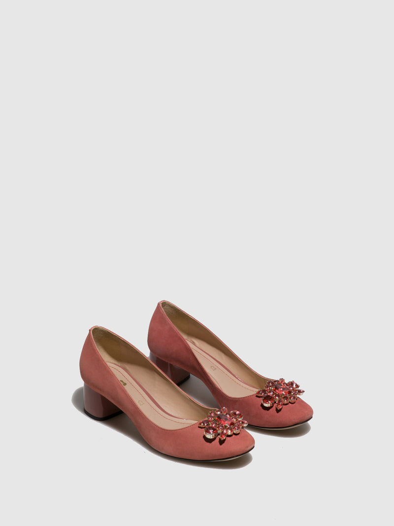 Parodi Passion Pink Round Toe Shoes