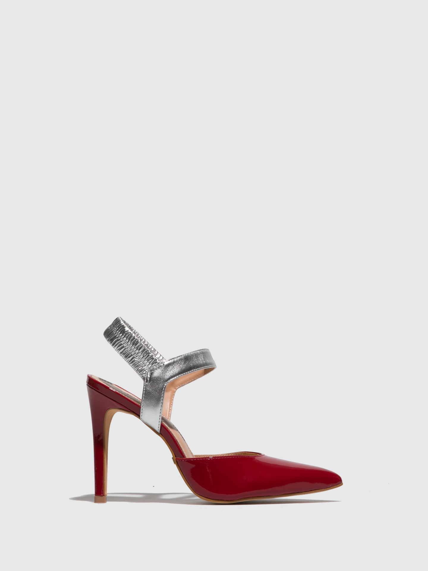 PARODI PASSION Red Heel Sandals