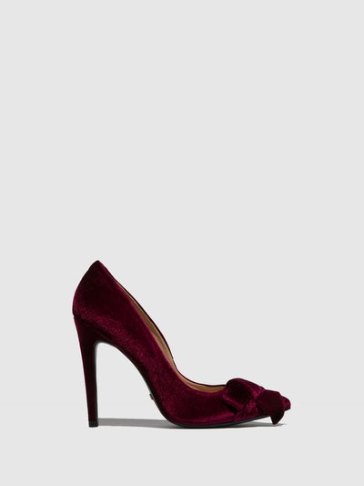 Parodi Passion Burgundy Pointed Toe Shoes