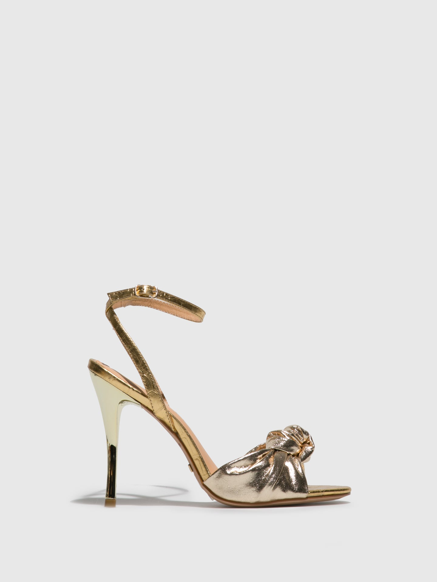 Parodi Passion Gold Heel Sandals
