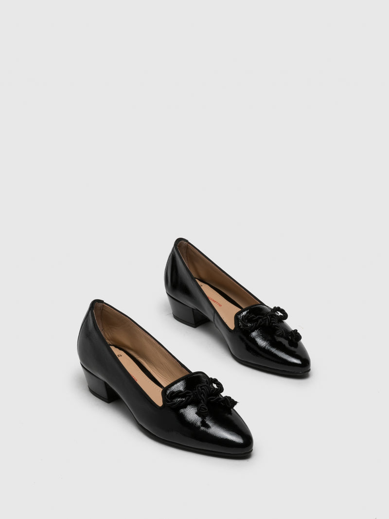 Black Mocassins Shoes