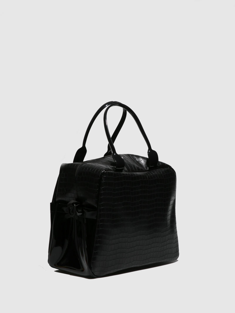 Petite Jolie By Parodi Black Handbag