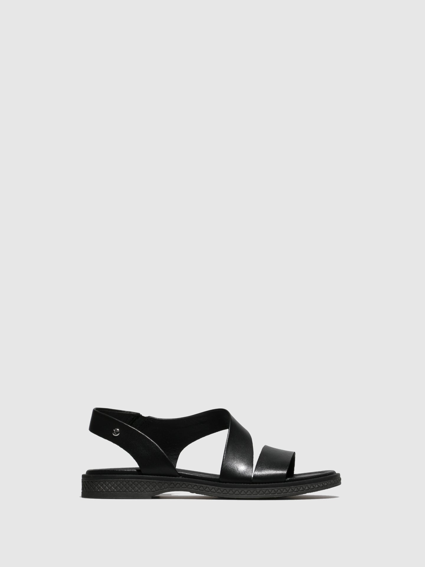 Pikolinos Black Sling-Back Sandals