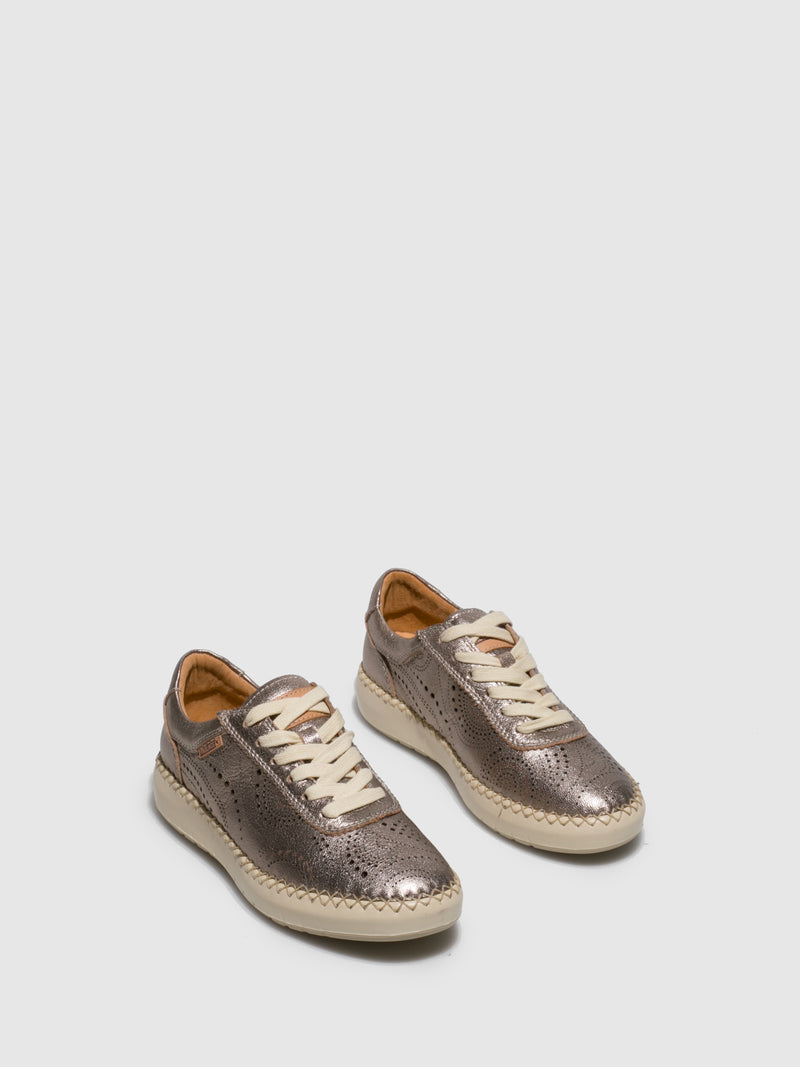 Pikolinos Gray Lace-up Trainers