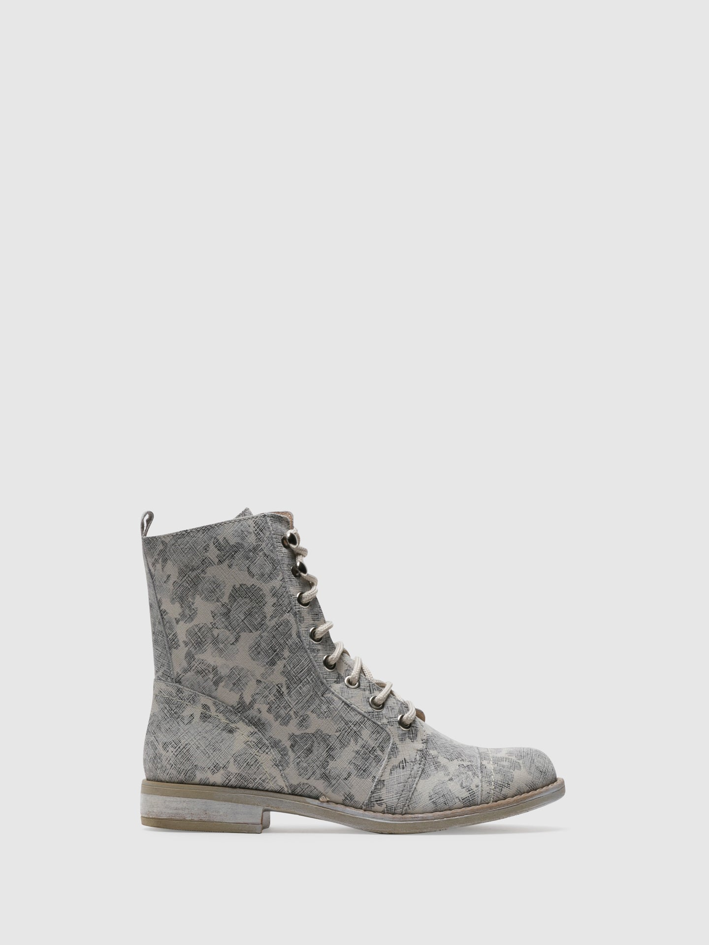PintoDiBlu Beige Lace-up Boots