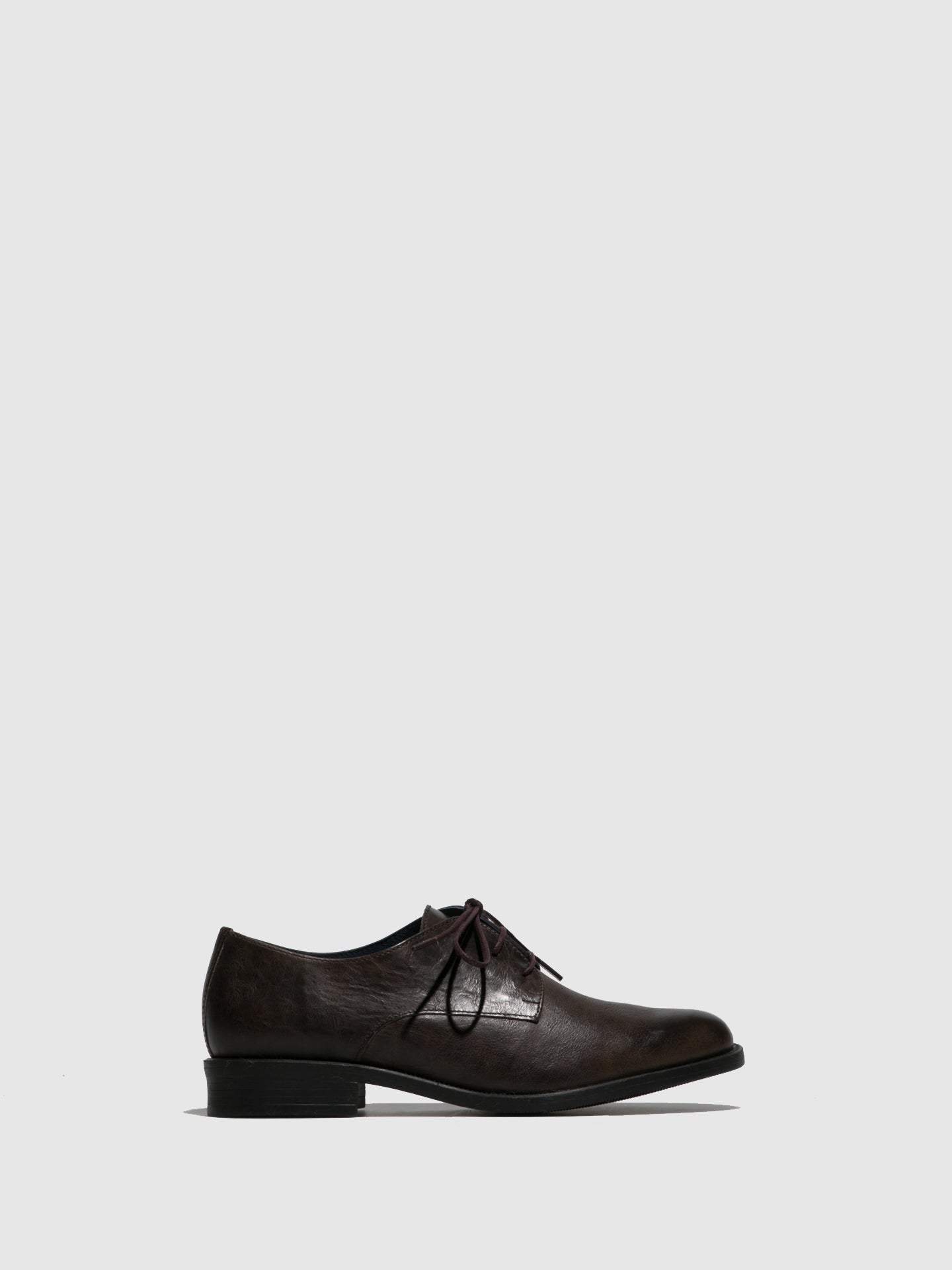 PintodiBlu Brown Derby Shoes