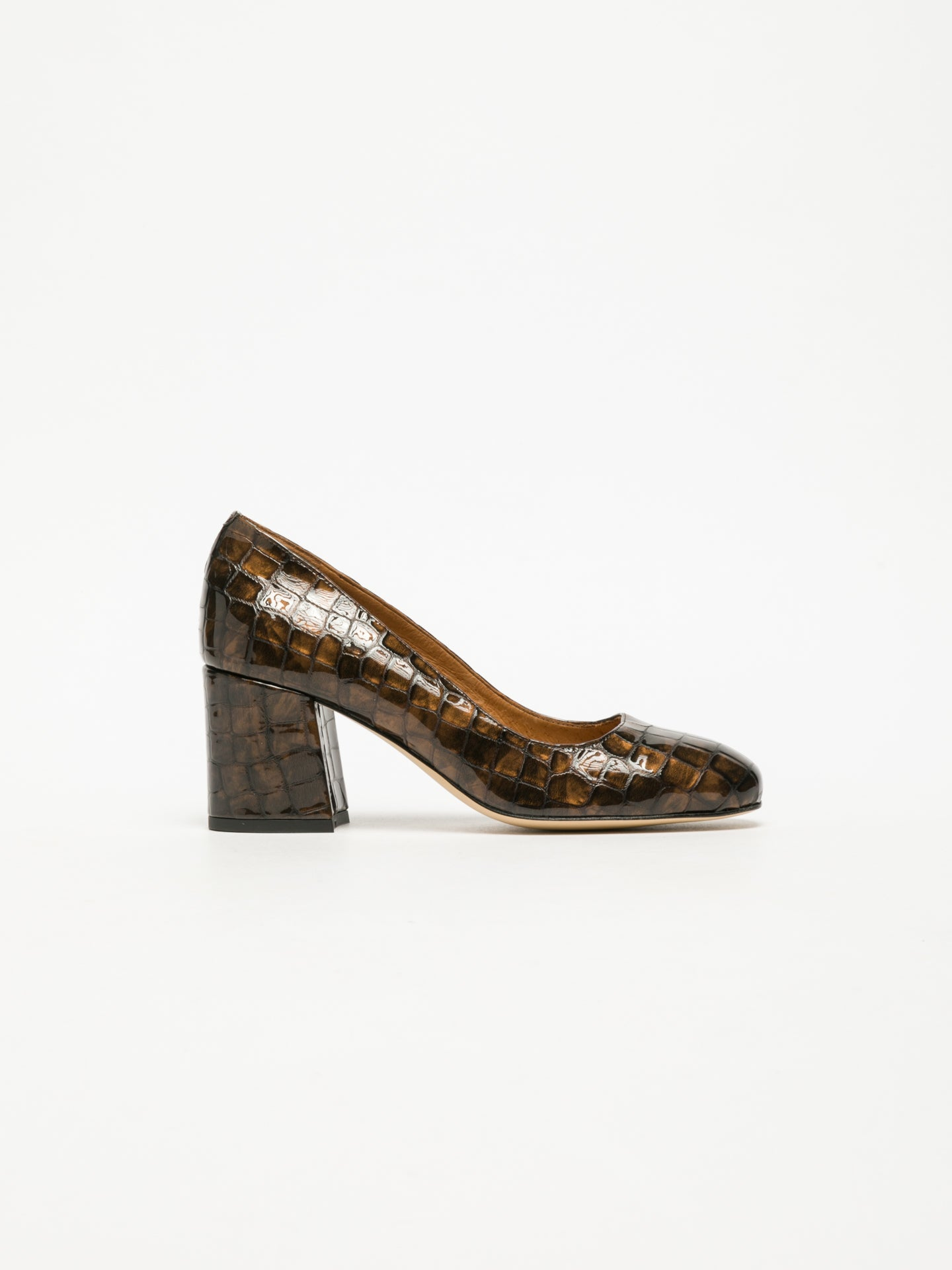 Sofia Costa Brown Classic Pumps Shoes