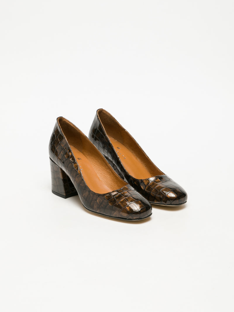 Brown Classic Pumps Shoes