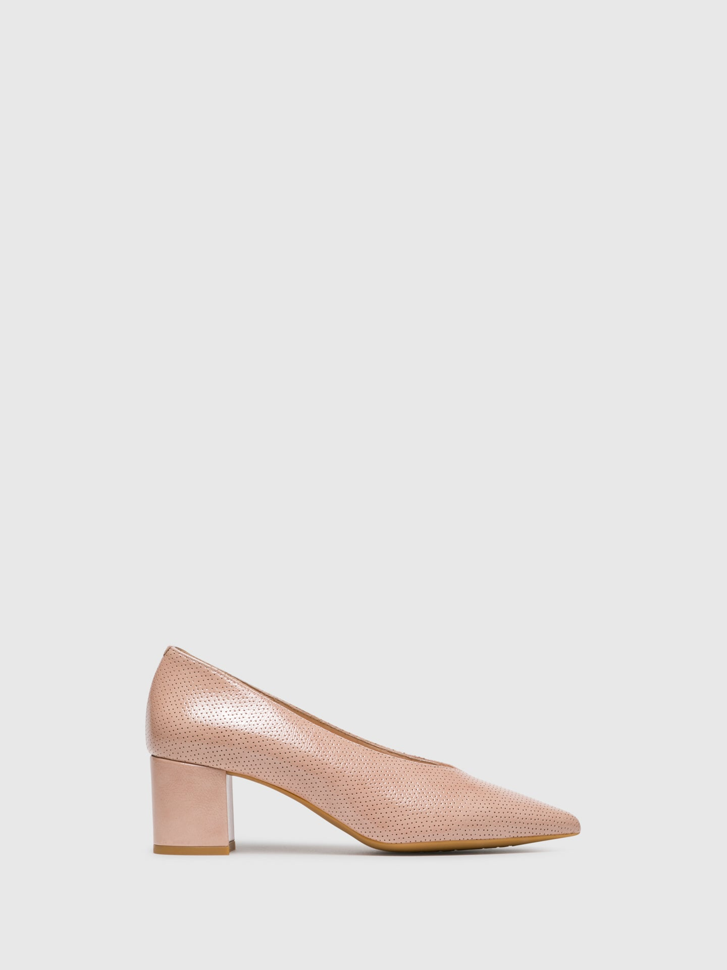 Sofia Costa Pink Pointed Toe Shoes