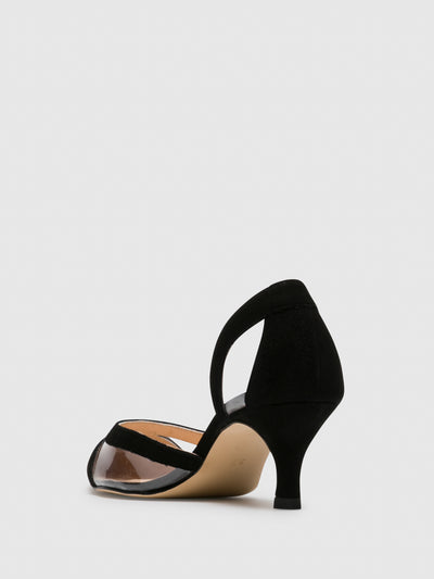 Sofia Costa Black Stilettos Shoes
