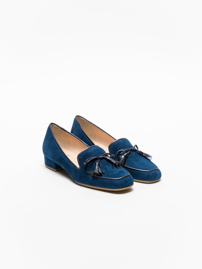 Sofia Costa Blue Nautical Shoes