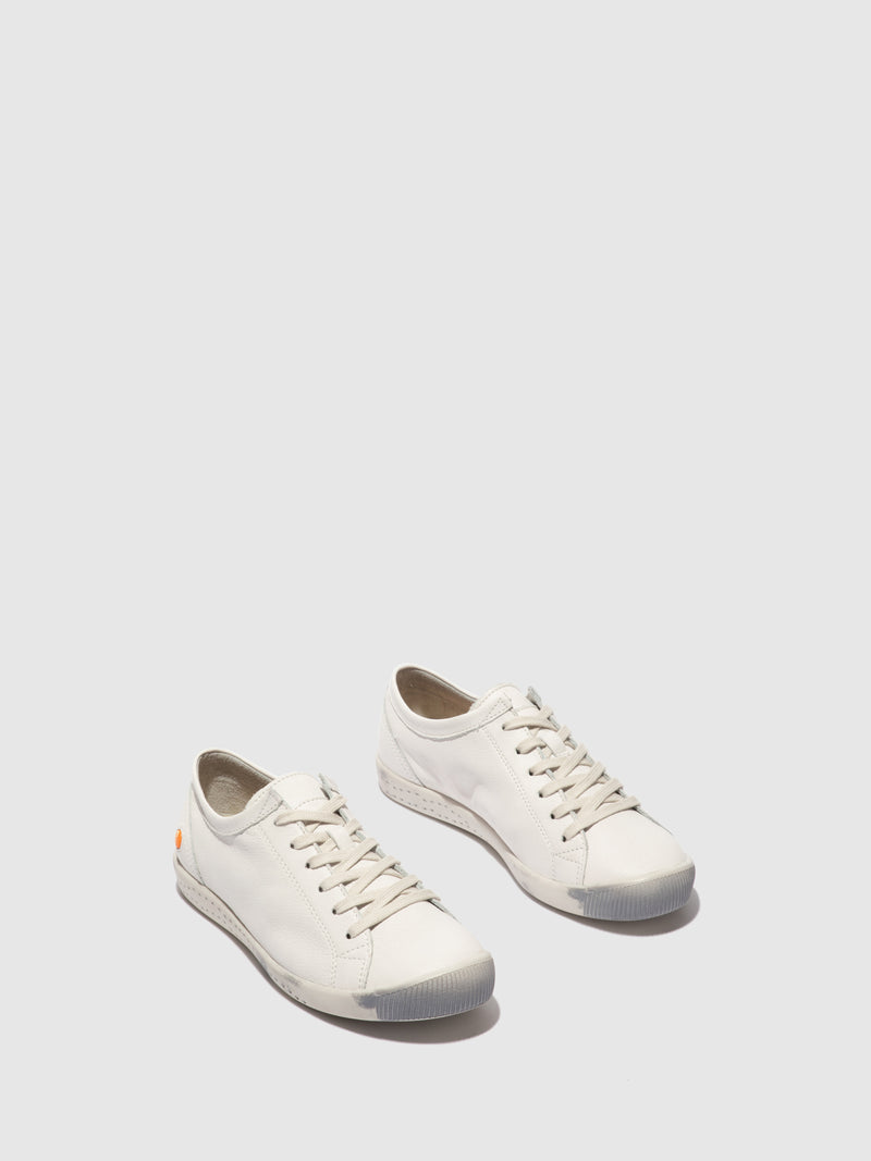 Lace-up Trainers ISLA White