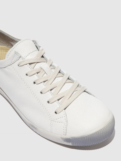 Softinos Lace-up Trainers ISLA White