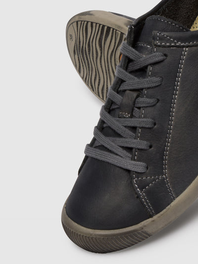 SOFTINOS Lace-up Trainers ISLA Anthracite