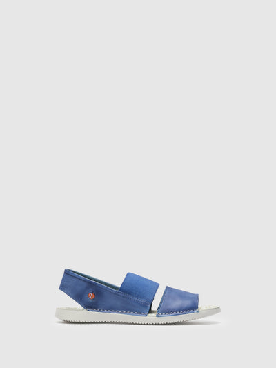 SOFTINOS SkyBlue Sling-Back Sandals