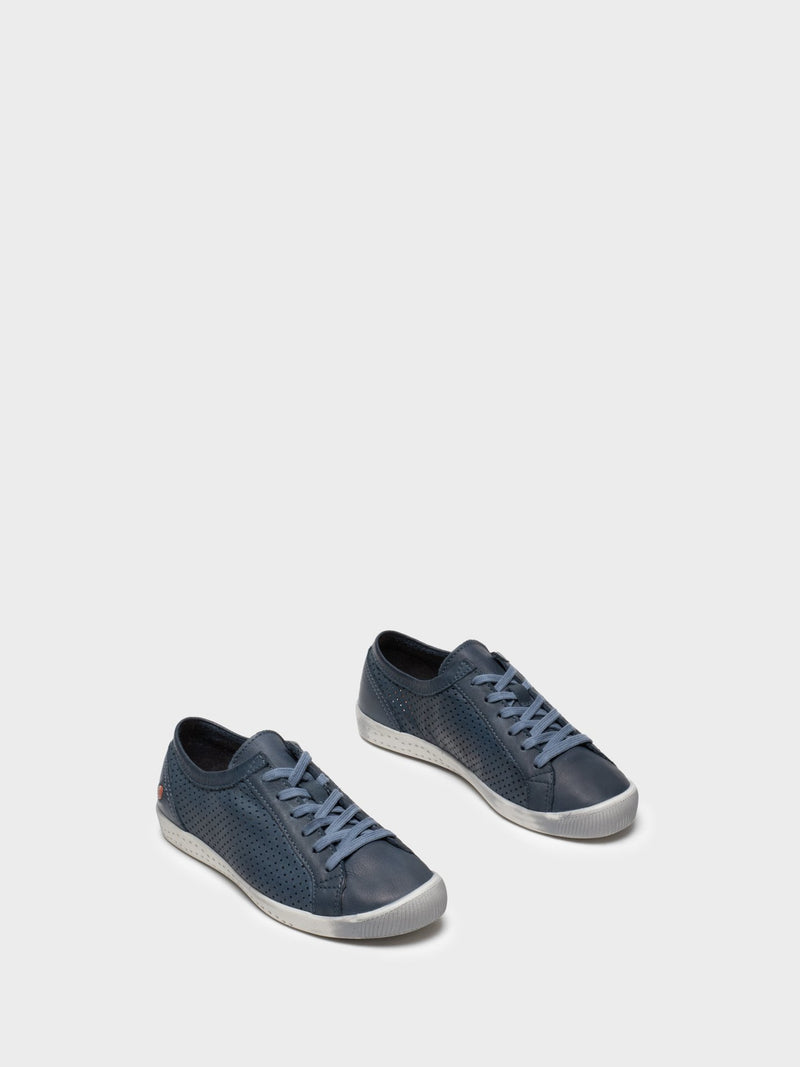 Softinos Lace-up Trainers ICA388SOF Navy