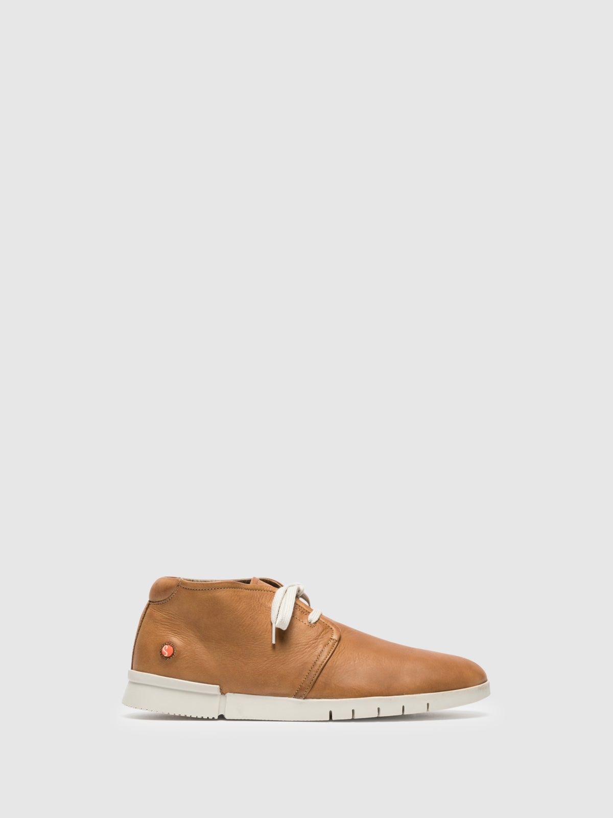 Softinos Brown Low-Top Trainers