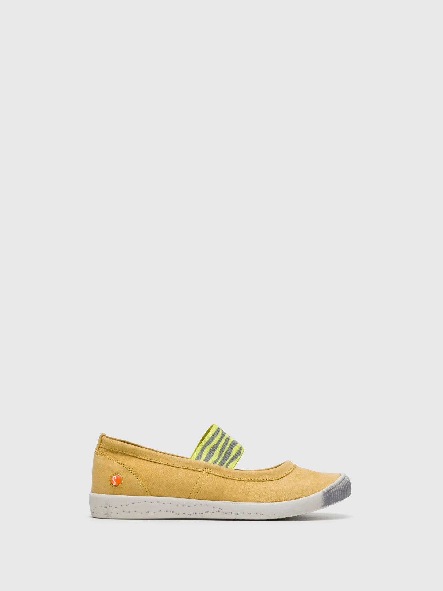 SOFTINOS LightYellow Elasticated Ballerinas