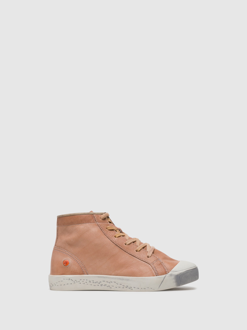 SOFTINOS DarkSalmon Hi-Top Trainers