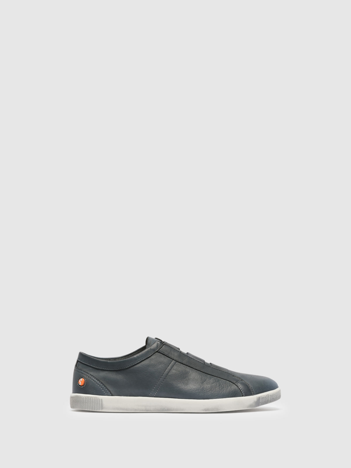 SOFTINOS Navy Elasticated Trainers