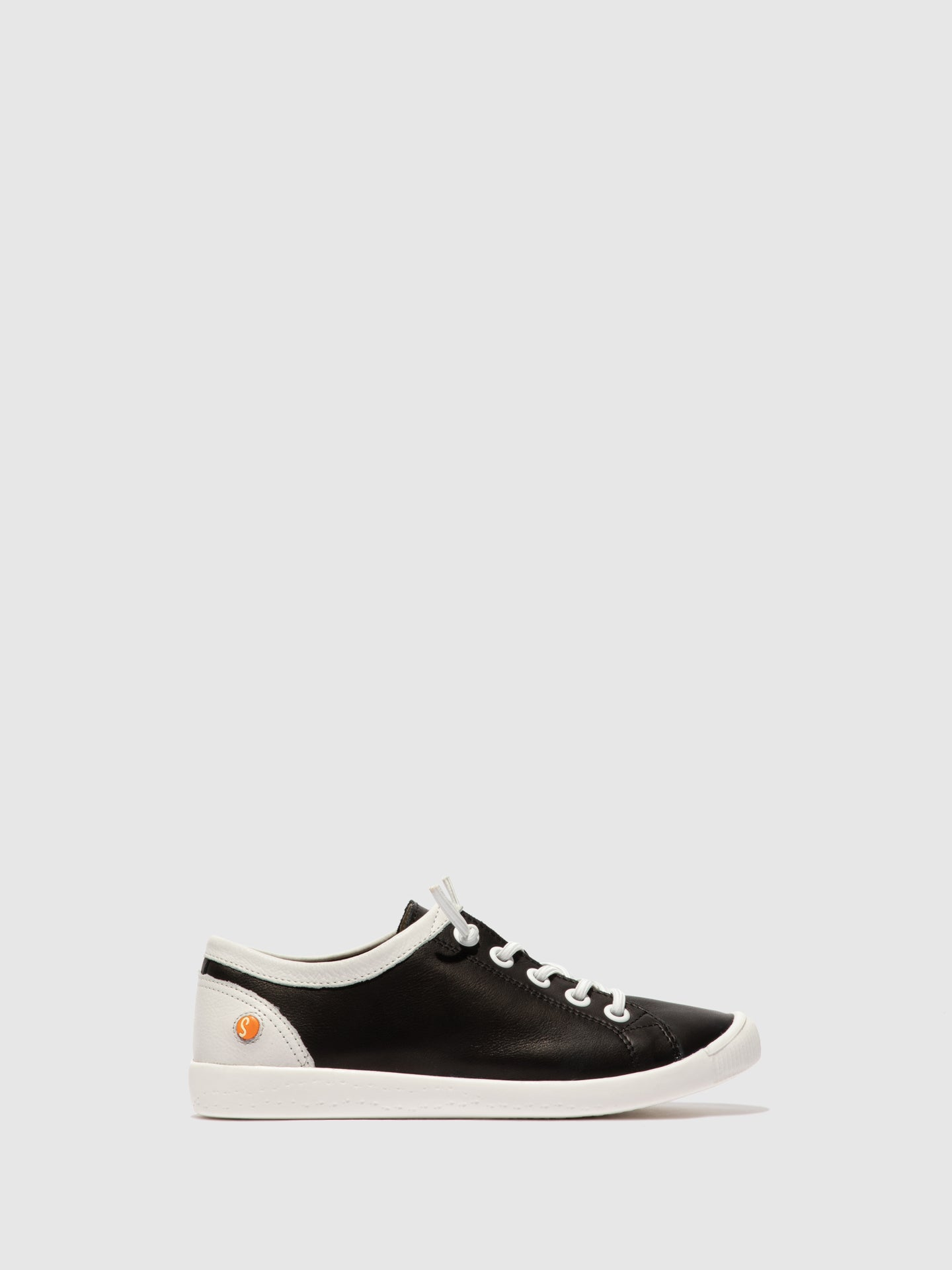 Softinos Slip-on Trainers ISLAII557SOF SUPPLE BLACK/WHITE