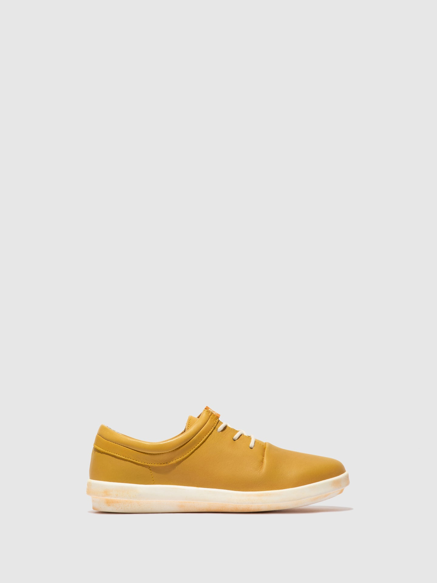 Softinos Lace-up Trainers CASY561SOF Yellow