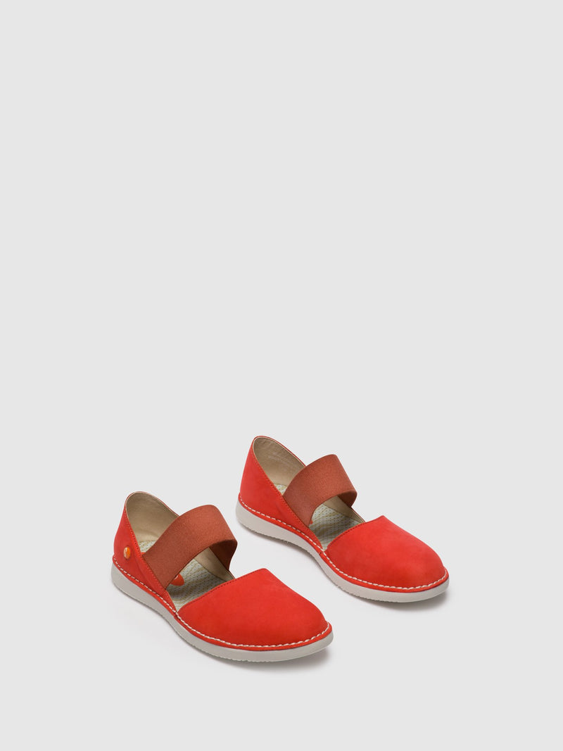 Elasticated Shoes TEJA576SOF Devil Red